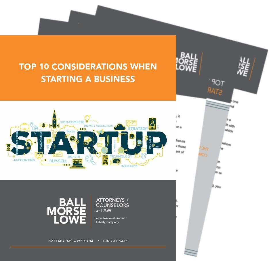 10 Considerations When Starting A Business